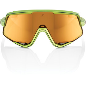 100% Glendale Glasses matte metallic viperidae/multilayer mirror